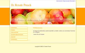 Dr. Renate Prosek Suchmaschinenoptimerung Zahnarzt Mannheim
