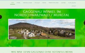 Ortsgemeinde Gaggenau-Winkel im Murgtal-Nordschwarzwald