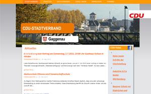 CDU Stadtverband Gaggenau