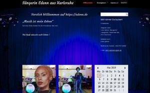 Sängerin Edenn aus Karlsruhe