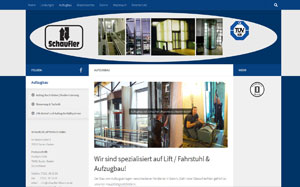 Aufzugbau und Aufzugservice - Schaufler Liftservice Baden-Baden
